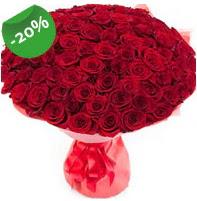 Özel mi Özel buket 101 adet kırmızı gül  İsparta anneler günü çiçek yolla