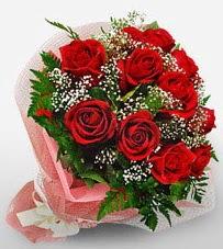 12 adet kırmızı güllerden kaliteli gül  İsparta çiçek siparişi vermek