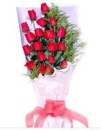 19 adet kırmızı gül buketi  İsparta uluslararası çiçek gönderme