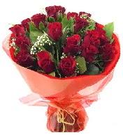 12 adet görsel bir buket tanzimi  İsparta çiçek siparişi vermek