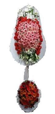 çift katlı düğün açılış sepeti  İsparta internetten çiçek satışı