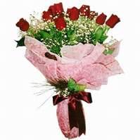 İsparta çiçek siparişi sitesi  12 adet kirmizi kalite gül