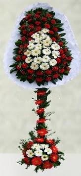 İsparta internetten çiçek satışı  çift katlı düğün açılış çiçeği