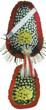Çift katlı düğün açılış çiçeği  İsparta çiçek servisi , çiçekçi adresleri
