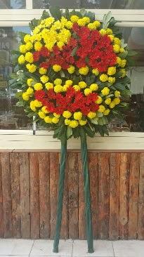 Cenaze çelengi çiçek modeli  İsparta çiçek mağazası , çiçekçi adresleri