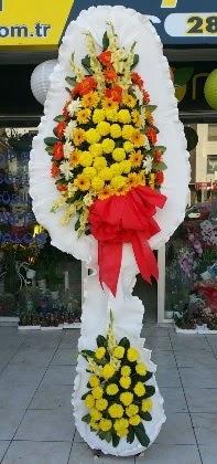 Çift katlı düğün nikah açılış çiçeği  İsparta güvenli kaliteli hızlı çiçek