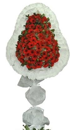 Tek katlı düğün nikah açılış çiçek modeli  İsparta cicekciler , cicek siparisi