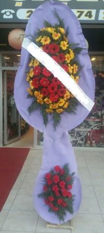Çift katlı nikah düğüne çiçek modeli  İsparta internetten çiçek siparişi