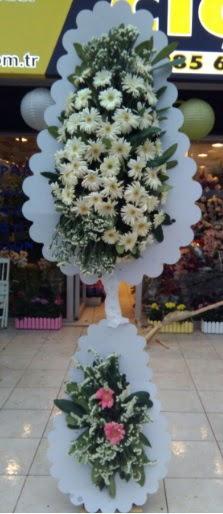 Çift katlı düğün nikah açılış çiçeği  İsparta çiçekçi telefonları