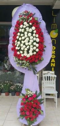 Çift katlı işyeri açılış çiçek modeli  İsparta ucuz çiçek gönder