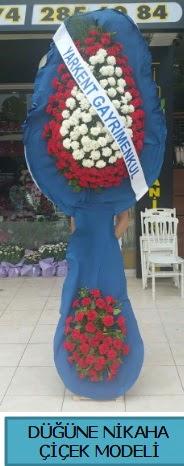 Düğüne nikaha çiçek modeli  İsparta çiçek satışı