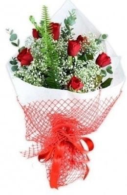7 adet gülden kız arkadaşıma çiçek  İsparta çiçekçi telefonları