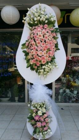 Çift katlı özel şahane sepet çiçeği  İsparta çiçekçi telefonları