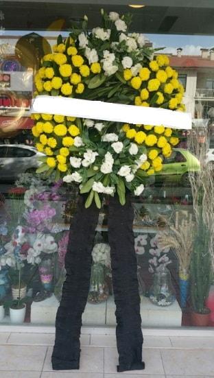 Cenaze çiçek modeli cenaze çiçeği  İsparta çiçekçi telefonları