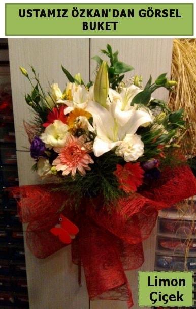 Karışık görsel mevsim çiçeği  İsparta ucuz çiçek gönder