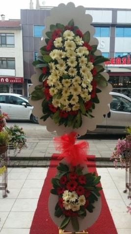 Çift katlı düğün açılış çiçeği  İsparta çiçek satışı
