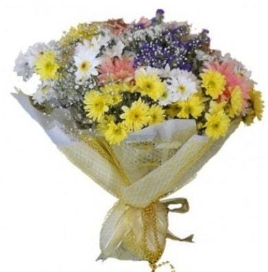 Karışık mevsim çiçeği  İsparta çiçek satışı