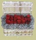 İsparta cicekciler , cicek siparisi  Sandikta 11 adet güller - sevdiklerinize en ideal seçim